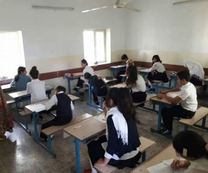 ۱۳ قوتابی دەگەڕێنرێنەوە پۆلی ساڵی رابردوویان ، پێنج مامۆستاش دوور خرانەوە